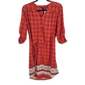 NWT Stitch Fix 41 Hawthorn Cristen Shirt Dress